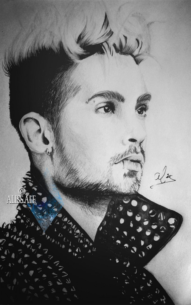 bill_kaulitz__kings_of_suburbia__by_aliss_ale-d81wbmp